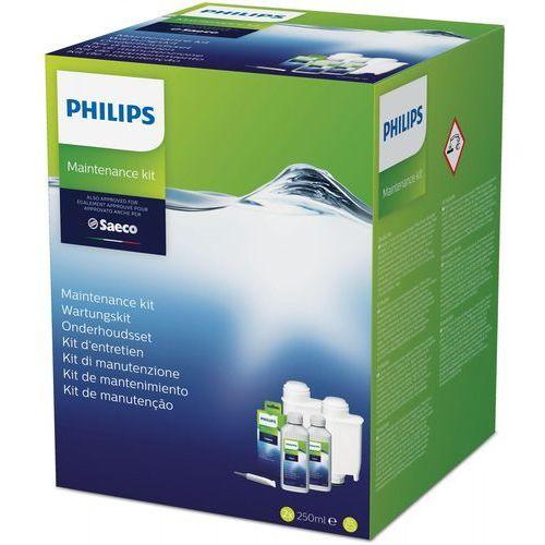 Philips zestaw do konserwacji ekspresów philips saeco z filtrami brita intenza+ ca6706/10 >> 100 zł w bonie na następne zakupy! za każde wydane 1000 zł w neo24.pl!! (8710103825159)