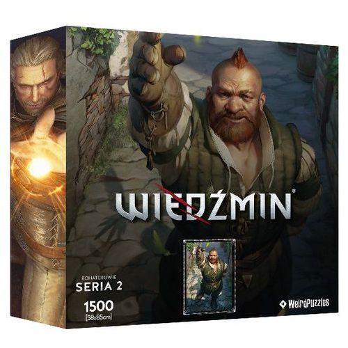 Puzzle cdp.pl bohaterowie wiedźmina - zoltan (seria 2) marki Cdp.pl software