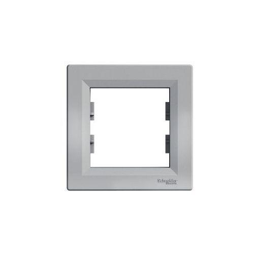 Schneider Ramka 1- krotna asfora aluminium eph5800161 (3606480728945)