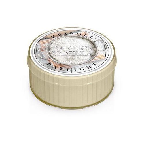 Kringle candle Bakers vanilla mała świeczka wanilia cukiernika - daylight 1,25oz