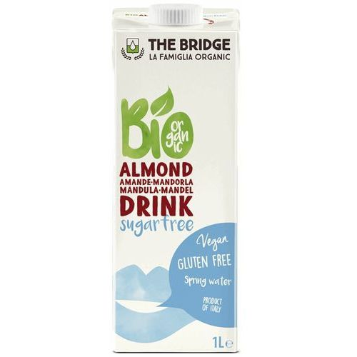 The bridge Napój mleko migdałowe bez cukru bez glutenu 1l -  - eko