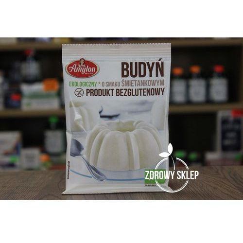Budyń śmietankowy bezglutenowy BIO 40g - Amylon, 8594006668354