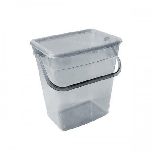 Pojemnik na proszek PLAST TEAM 10 l Szary (5707672724542)