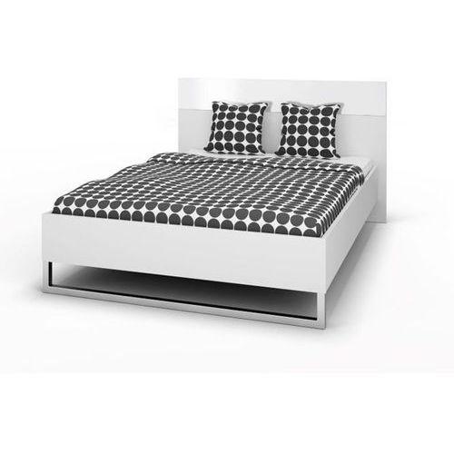 Łóżko style 140x200 cm - komplet - 140 cm ||200 cm \ biały marki Tvilum