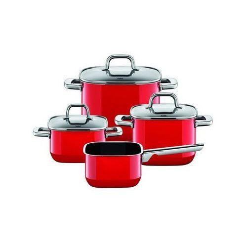 Silit - zestaw 4cz. czerwony quadro red