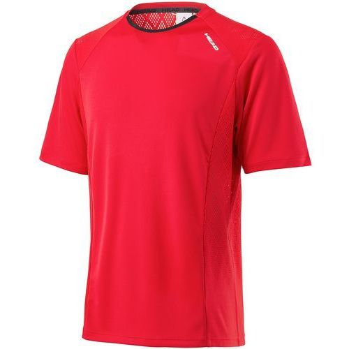 Head koszulka sportowa performance crew shirt m red m