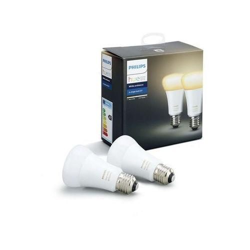 Philips Żarówka led hue white ambiance 9.5w a60 e27 eu 2pack