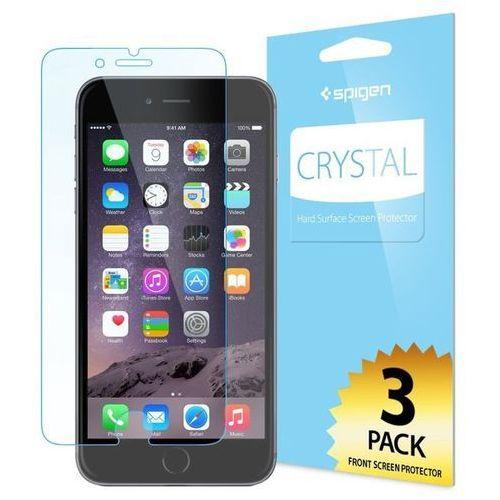 Folia ochronna na ekran Spigen Crystal dla Apple iPhone 6 Plus (3 sztuki) (8809404211911)