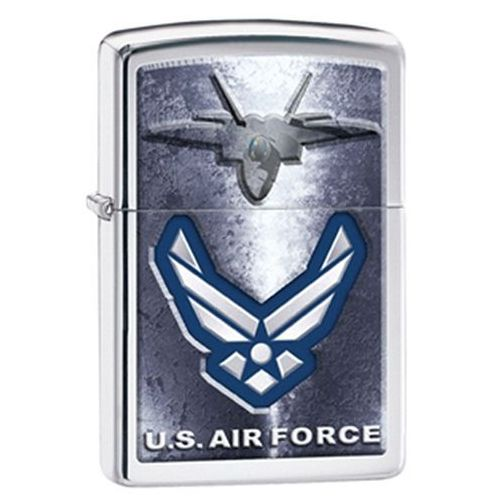 Zapalniczka  us air force, emblem high polish chrome marki Zippo