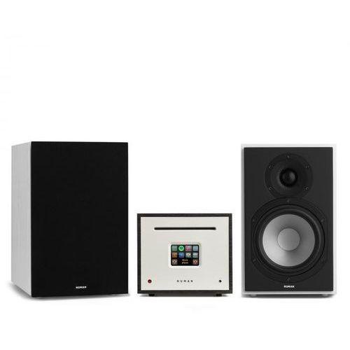 Numan Unison reference 802 edition – wieża stereo all-in-one z 2 kolumnami i osłonami