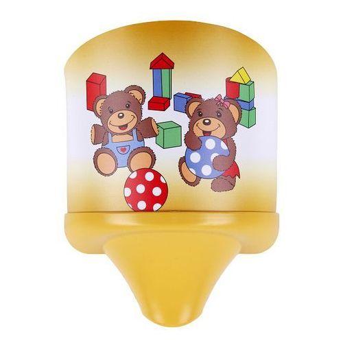 4960 kinkiet dziecięcy sweet wall light miś marki Rabalux