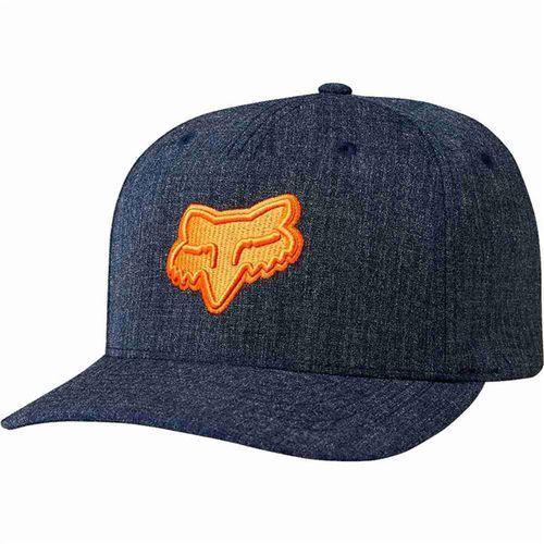czapka z daszkiem FOX - Heads Up Flexfit Heather Midnight (491) rozmiar: S/M