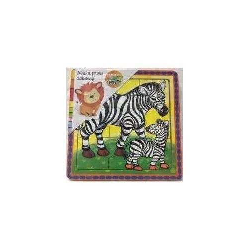 Puzzle drewniane małe Zebry (5907791575517)