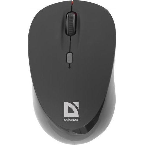Mysz bezprzewodowa DEFENDER DACOTA MS-155 IR-laserowa 2000dpi 4P czarno-czerwona (4714033521550)