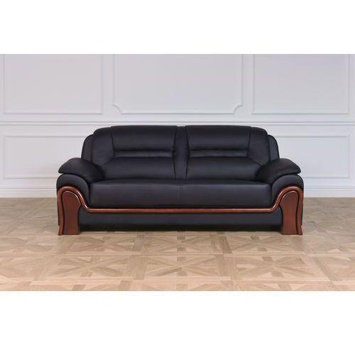 Sofa 3-osobowa PALLADIO, 611-3 BLACK