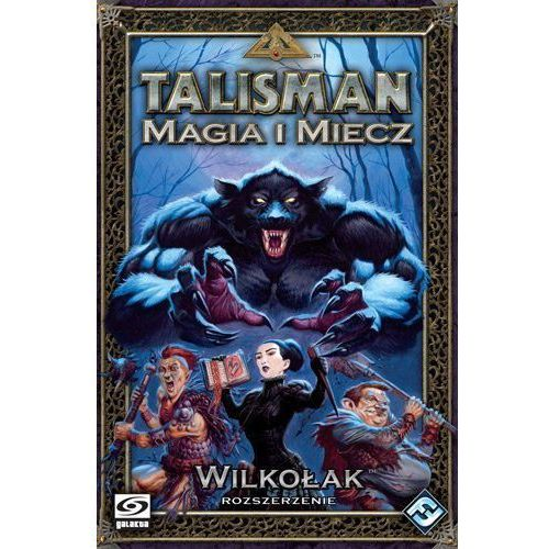 Galakta Gra talisman - wilkołak (5902259201922)