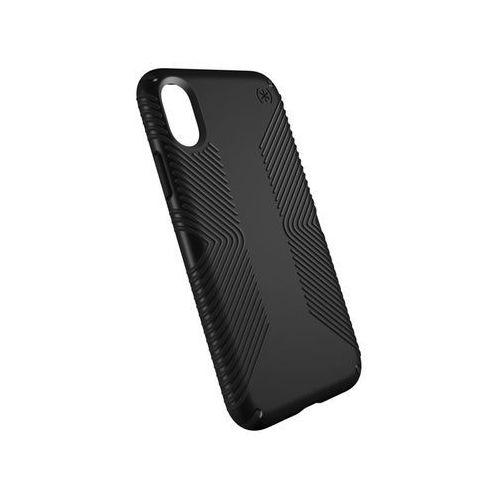 Speck  presidio grip - etui iphone x (black/black)