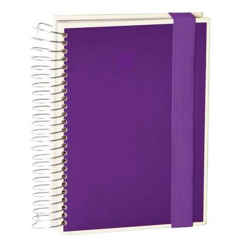 Notes die kante mucho a5 spirala 3 w 1 fioletowy marki Semikolon
