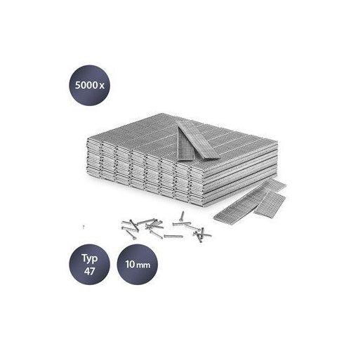 Trotec Zestaw gwoździ do zszywacza rodzaj 47, długość 10 mm (5000 sztuk)