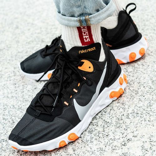 Nike React Element 55 (BQ6166-006), kolor czarny