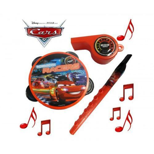 Cars - Zest Muzyczny FLET GWIZDEK TAMBURYNO Disney
