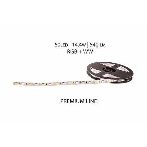 Prescot PR024-100-10-RGB+NW taśma LED biała, kolor biały