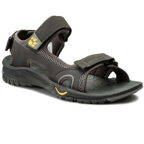 Sandały JACK WOLFSKIN - Lakewood Cruise Sandal M 4019011 Burly Yellow, kolor szary