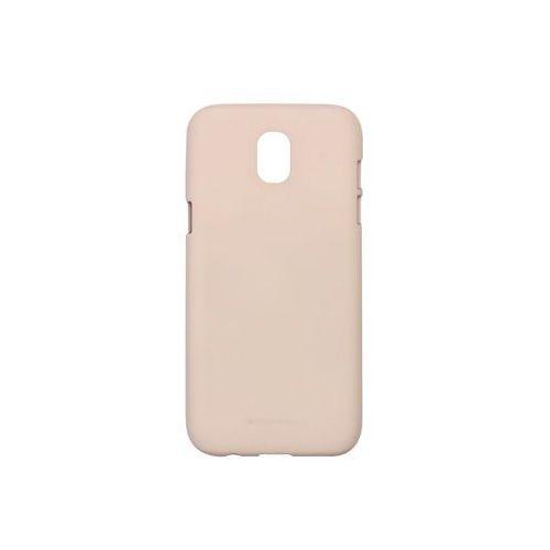 Samsung Galaxy J5 (2017) - etui na telefon Mercury Goospery Soft Feeling - piaskowy róż, ETSM555GMSFPIA000