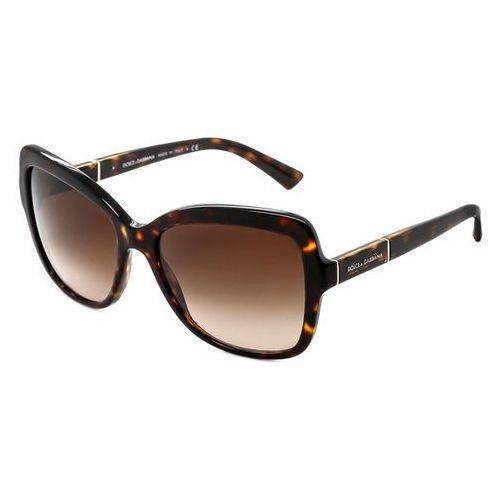 Okulary Słoneczne Dolce & Gabbana DG4244 Logo Plaque 502/13