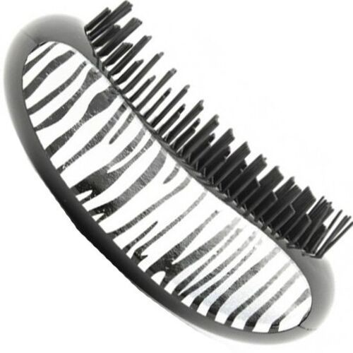 detangling szczotka do włosów plączących się wzór zebra marki Fox
