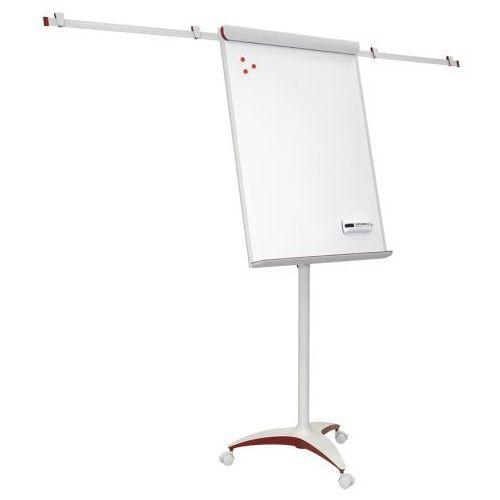 Flipchart mobilny biurowy PRO RED, z ramionami