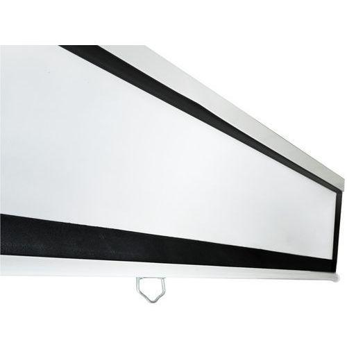 4world ekran projekcyjny na ścianę 244x183 (120'', 4:3) biały mat