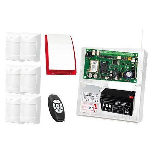 Satel set Zestaw alarmowy: płyta główna micra, 2x pilot mpt-300, 6x czujka abmer, sygnalizator sp-4001, akcesoria