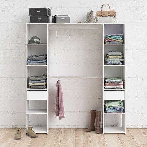 Szafa garderobiana handy 180 cm biały mat