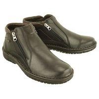 KRISBUT 6335-5-3 czarny, botki męskie