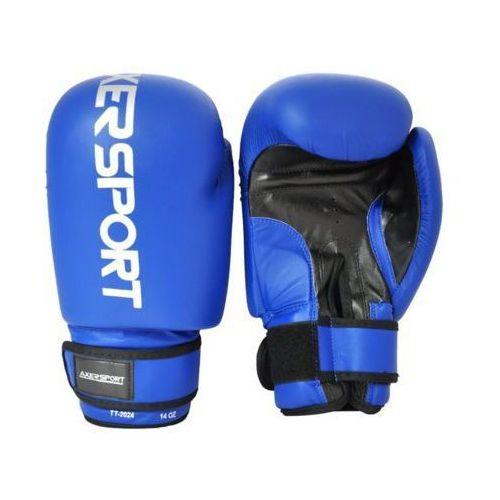 Rękawice bokserskie AXER SPORT A1324 (14 oz) Niebieski