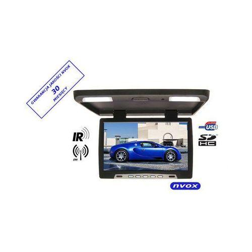 "NVOX RF1590U BL Monitor podwieszany podsufitowy LCD 15"" cali LED USB SD IR FM 12V 24V (5909182415280)"