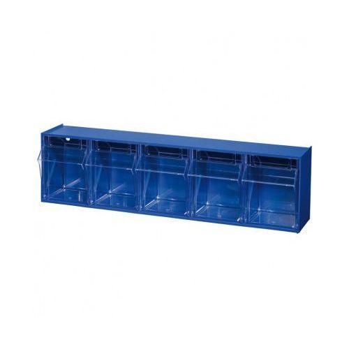 Szafki z odchylanymi szufladami ProFlip, 5 szuflad (4005187644302)