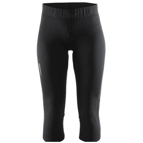 CRAFT Prime Capri - damskie spodnie 3/4 (czarny), w 5 rozmiarach