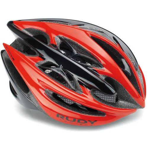 Rudy Project Sterling Kask rowerowy czerwony/czarny L   59-61cm 2018 Kaski rowerowe (0655586080375)
