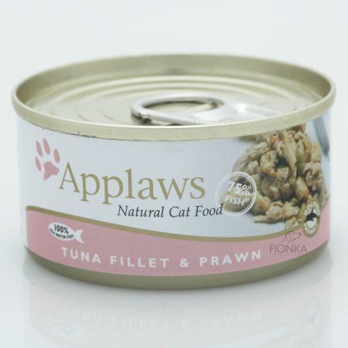 APPLAWS Tuna & Prawn karma dla kotów Tuńczyk z krewetkami puszka