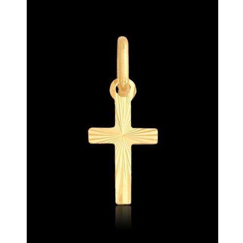?wisiorek krzyżyk ?,złoto 585/14k, kup u jednego z partnerów