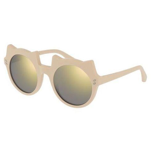 Okulary Słoneczne Stella McCartney SK0017S Kids 006, kolor żółty
