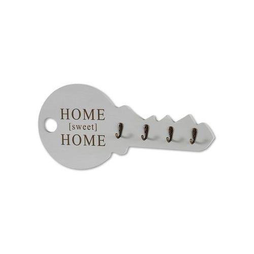 """Wieszak na klucze """"home"""" szaro-biały z efektem wytarcia marki Bonprix"""