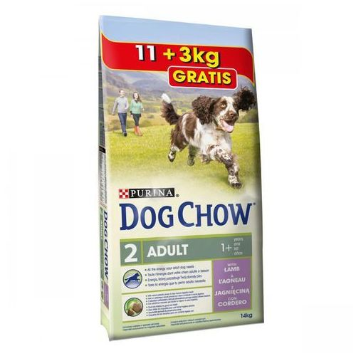 Purina  dog chow adult lamb 14kg (7613033404429)