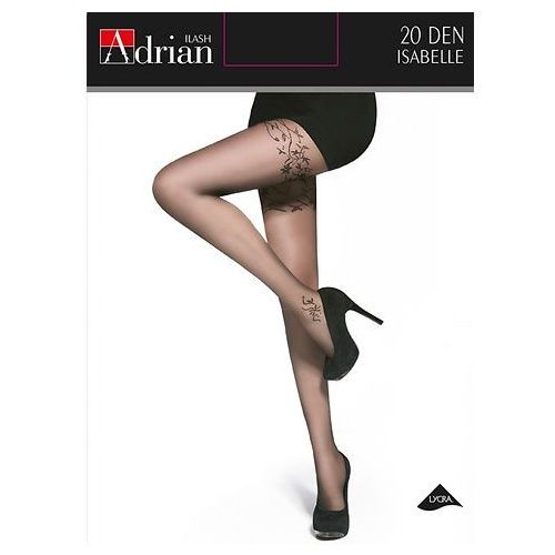 Rajstopy Adrian Isabelle 20 den 3-M, czarny/nero, Adrian, 5905493106060