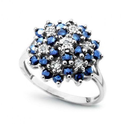 Złoty pierścionek pbd1600 - diament marki Staviori