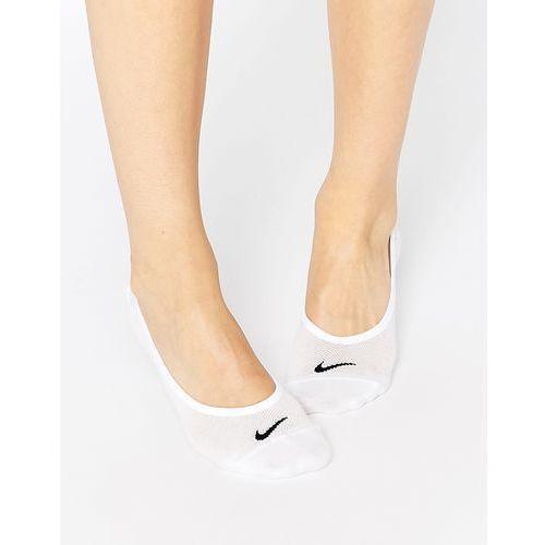 Nike Lightweight White 3 Pack No Show Socks - White, kolor biały