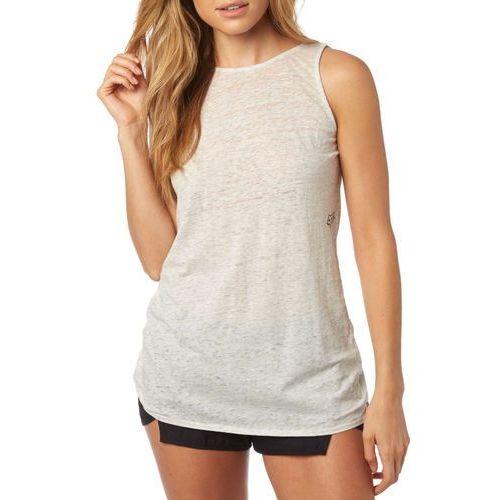 FOX koszulka bez rękawów damska Ventilate Twistback L szary, kolor szary