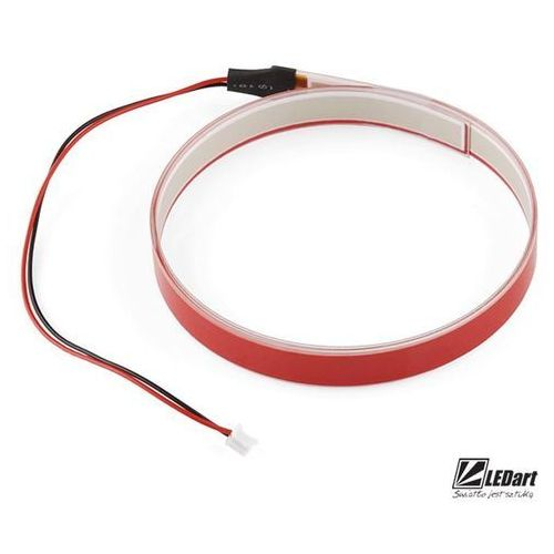 Taśma elektroluminescencyjna 2m czerwona